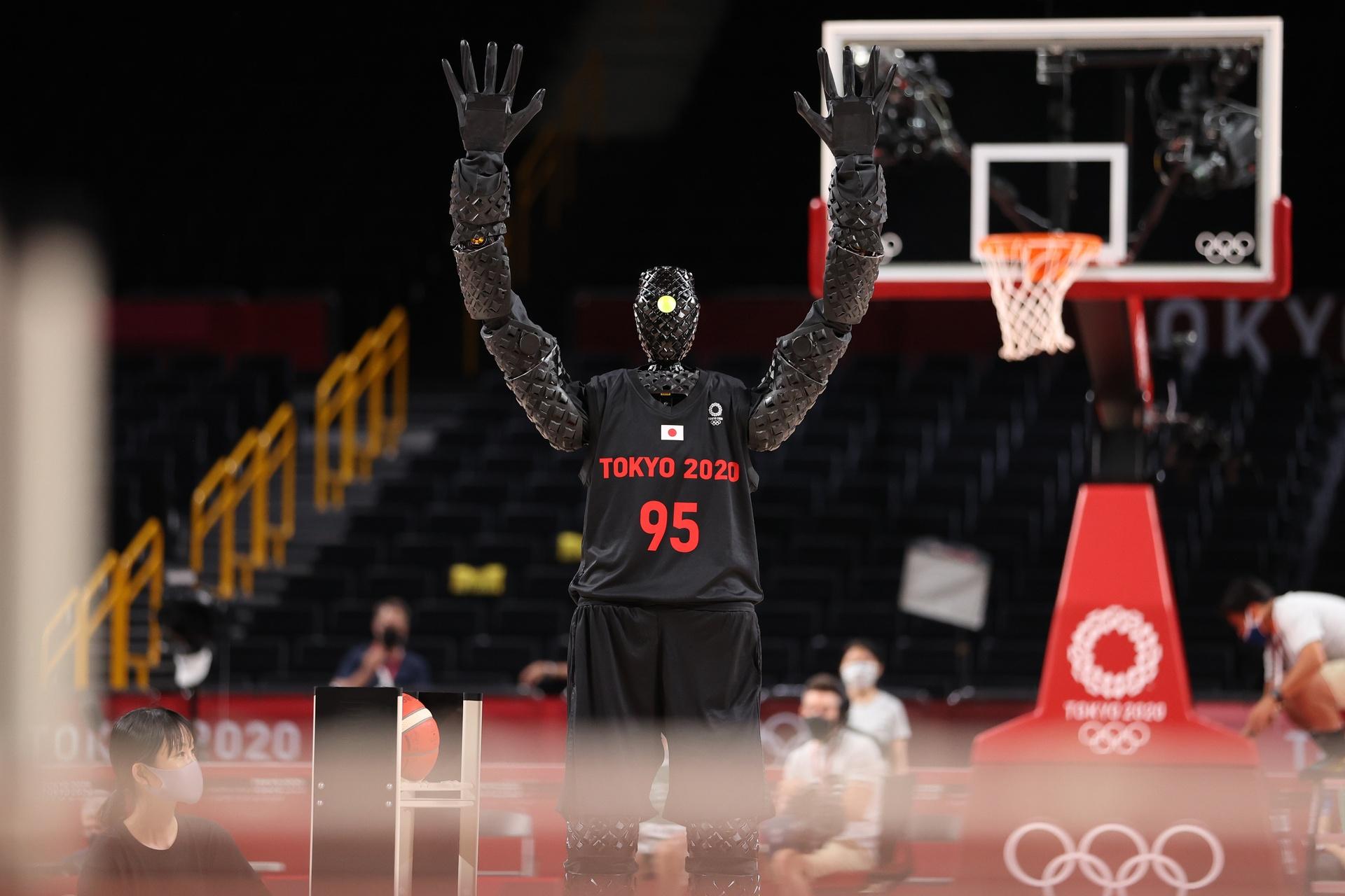 Robot nem bong ro tai Olympic 2021 anh 2