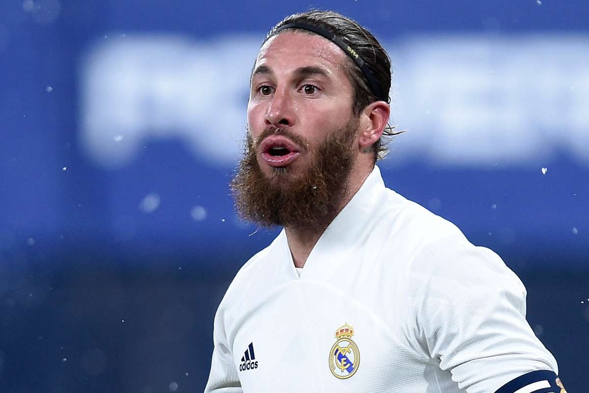 Sergio Ramos chia tay Real Madrid anh 1