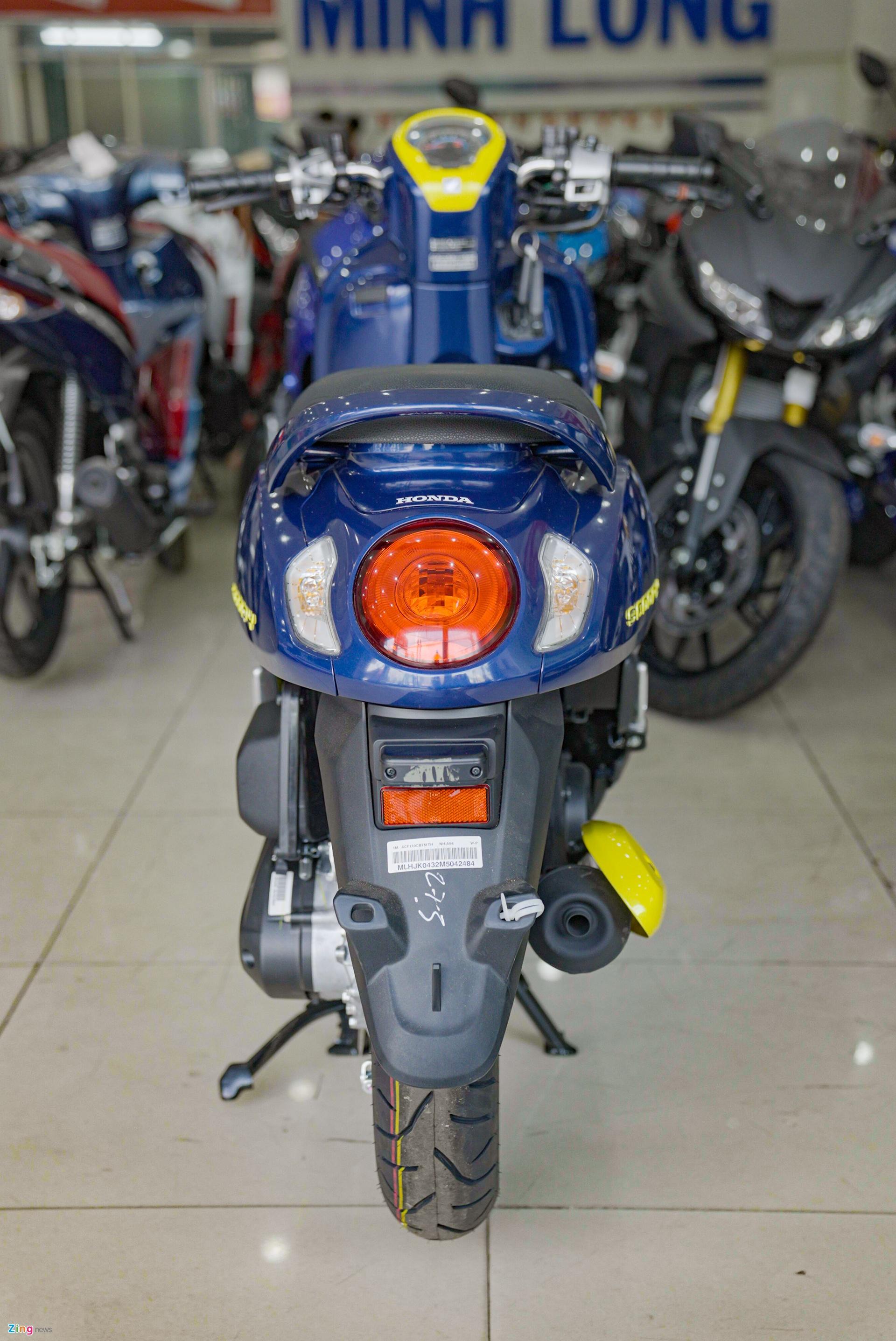 Honda Scoopy duoc dang ky ban quyen tai Viet Nam anh 8
