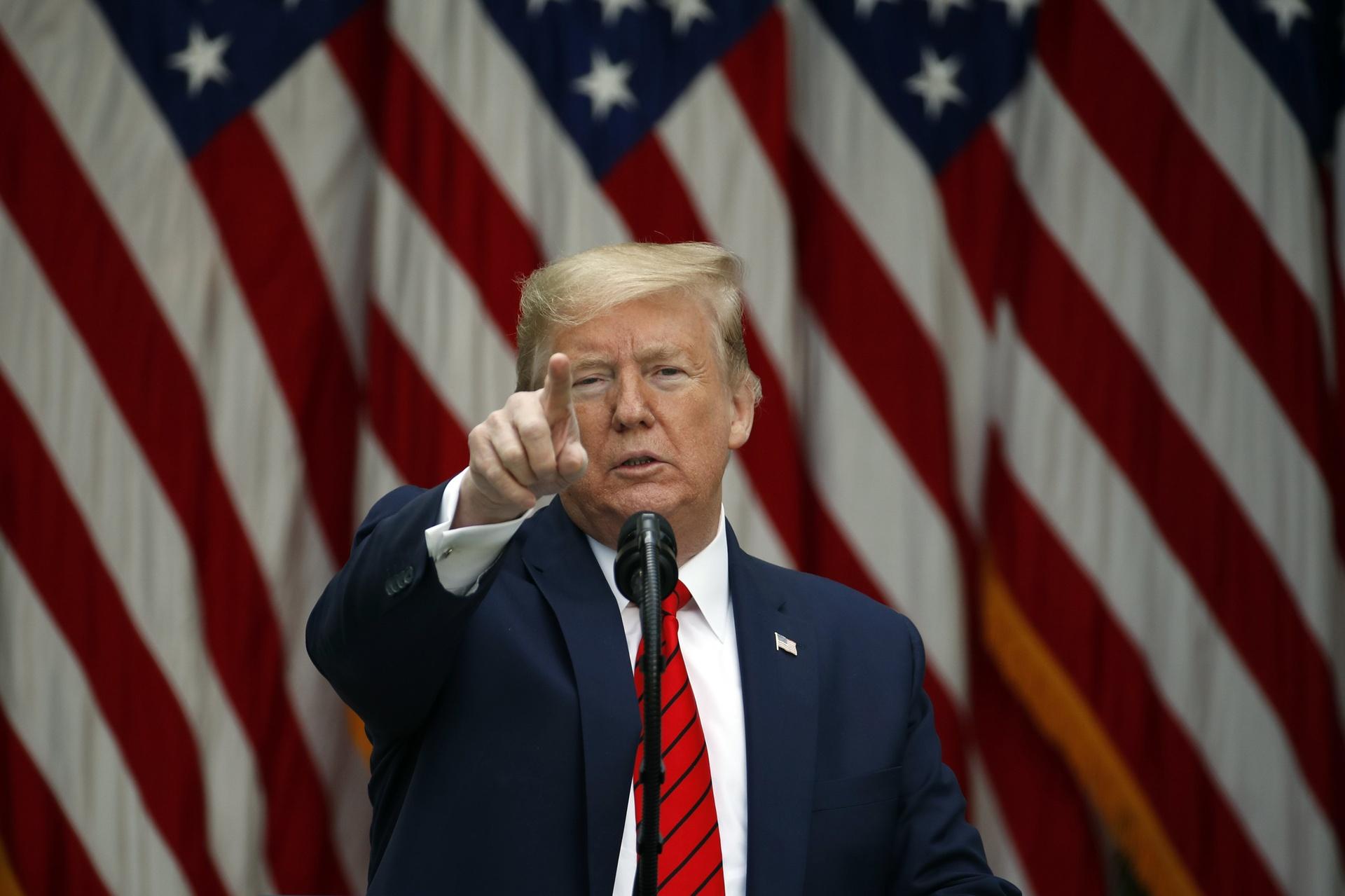 tong thong Trump anh 1