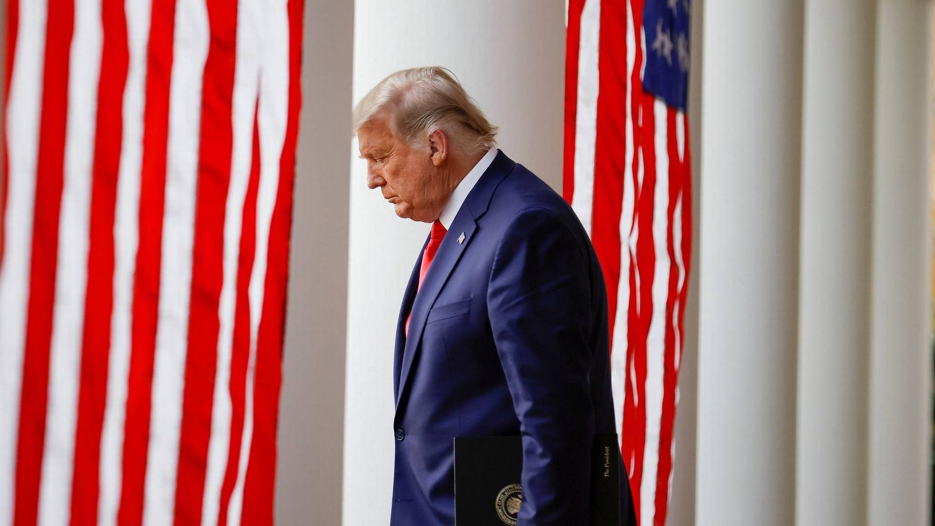 tong thong Trump anh 4