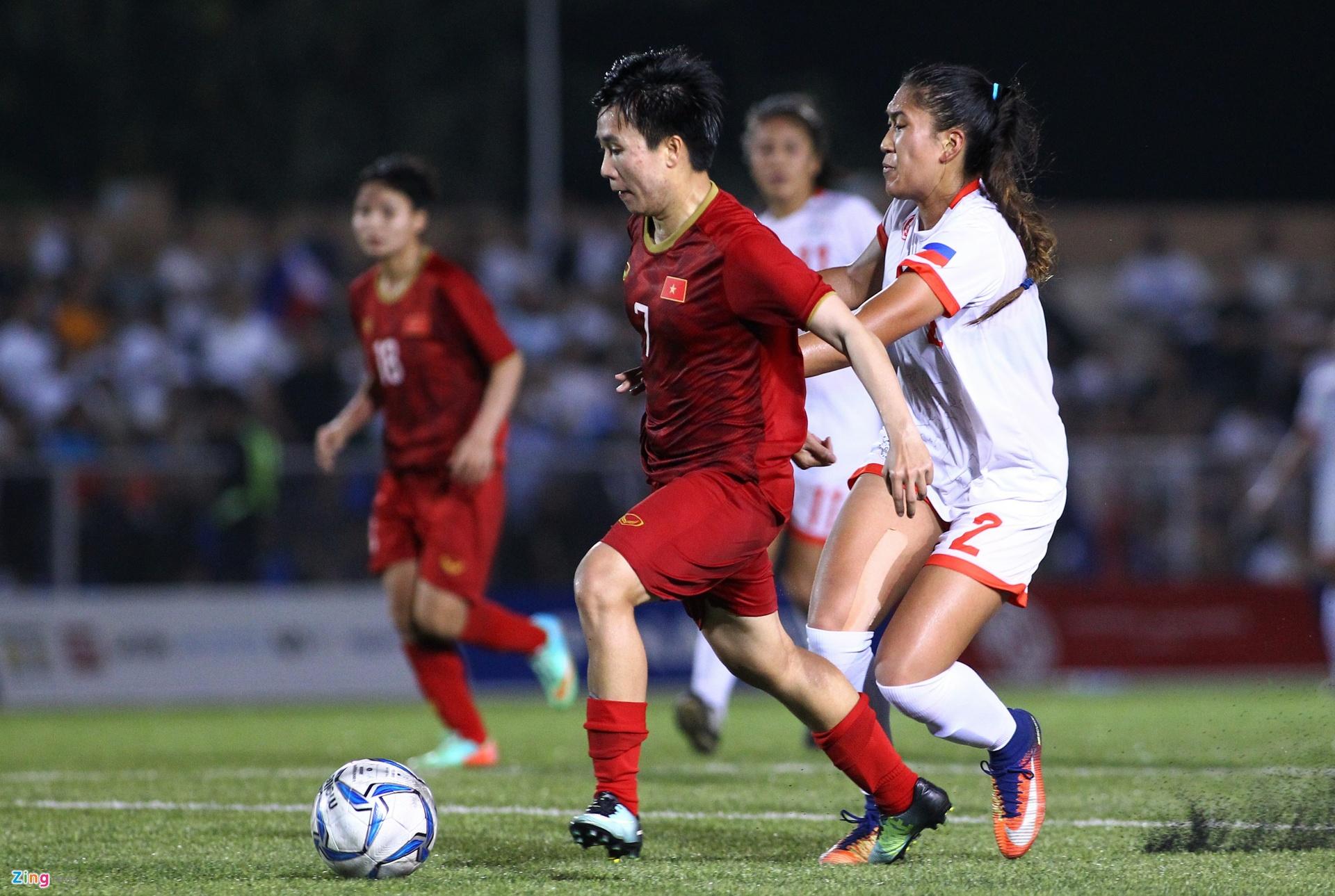 Tuyển thủ Tuyết Dung: 'Tôi tự tin sẽ cùng tuyển nữ dự World Cup'