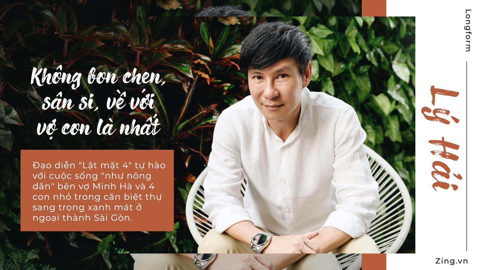 Ly Hai: 'Toi khong bon chen, san si, ve voi vo con la nhat' hinh anh 2