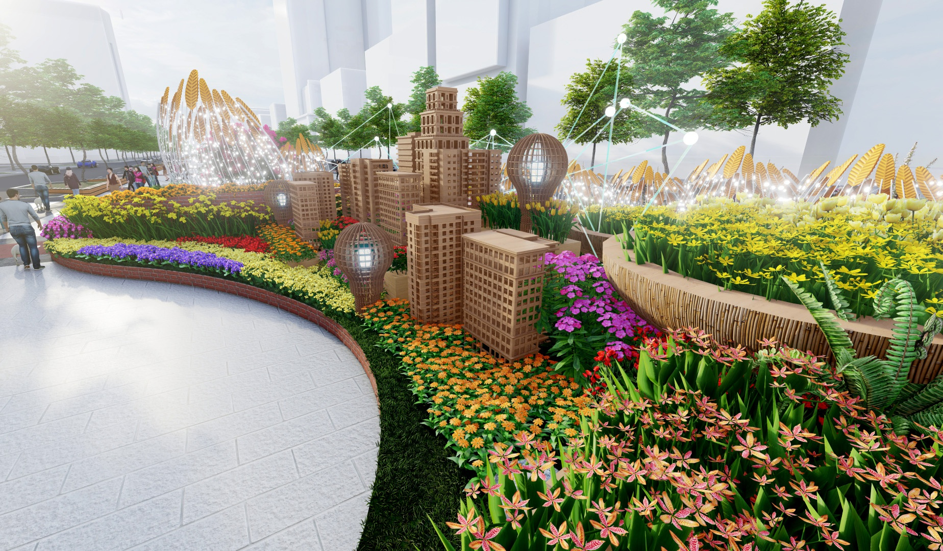 Duong hoa Nguyen Hue Tet Tan Suu 2021 anh 5