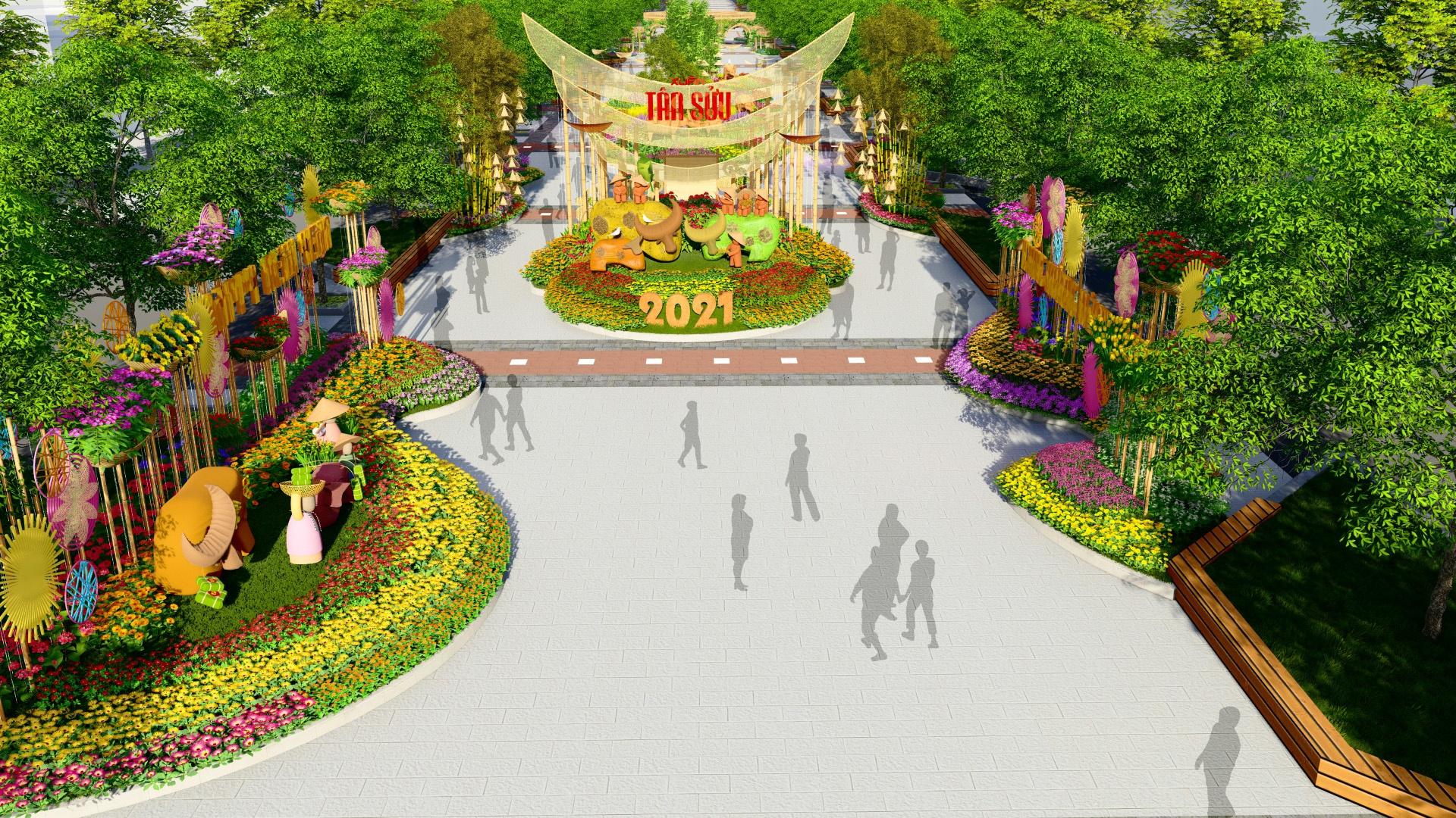 Duong hoa Nguyen Hue Tet Tan Suu 2021 anh 9