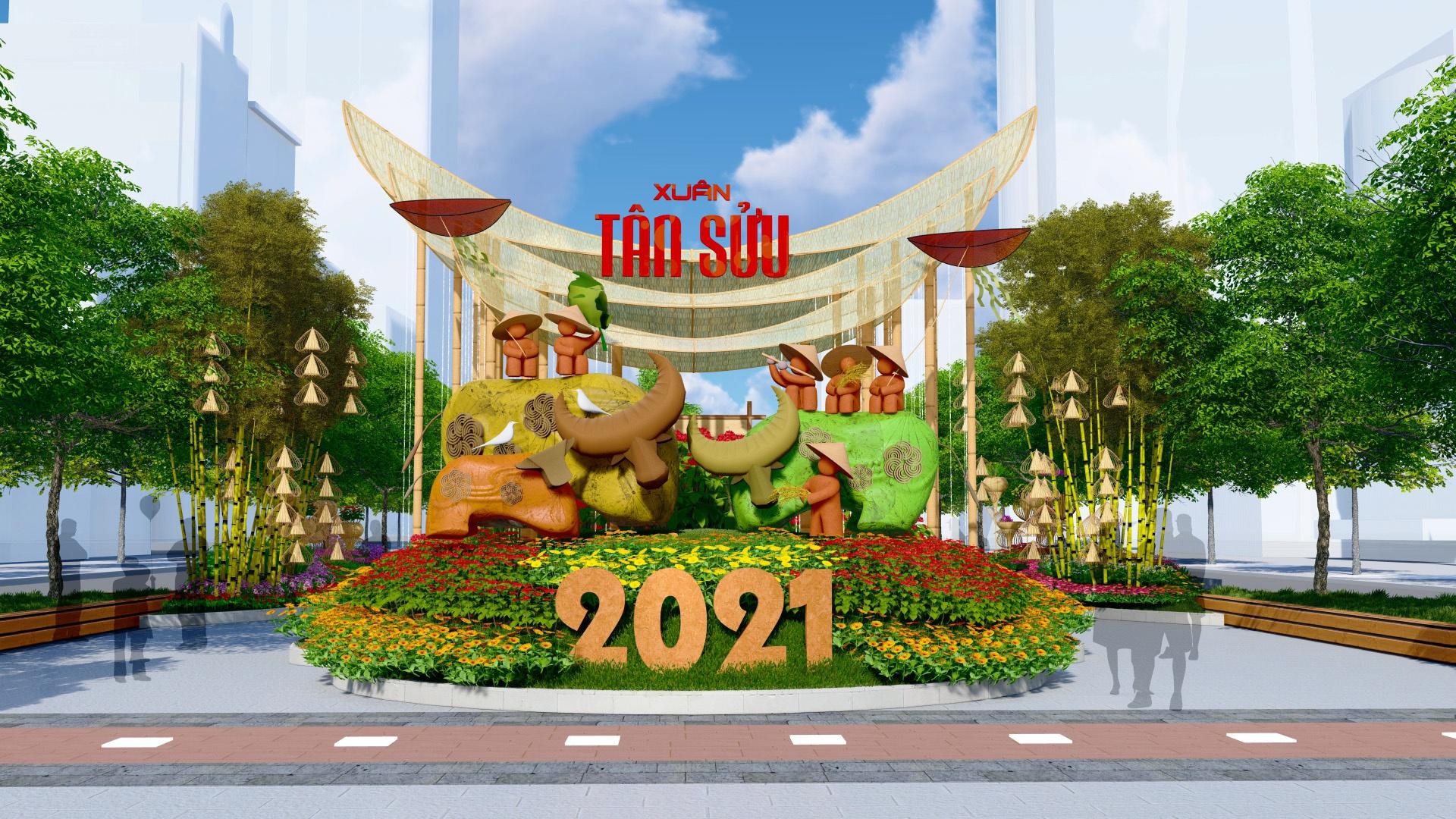 Duong hoa Nguyen Hue Tet Tan Suu 2021 anh 3