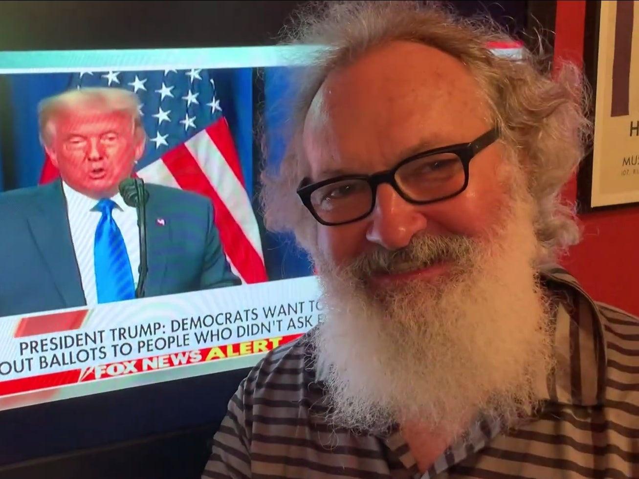 Trump chia se doan video cua dien vien Randy Quaid anh 1