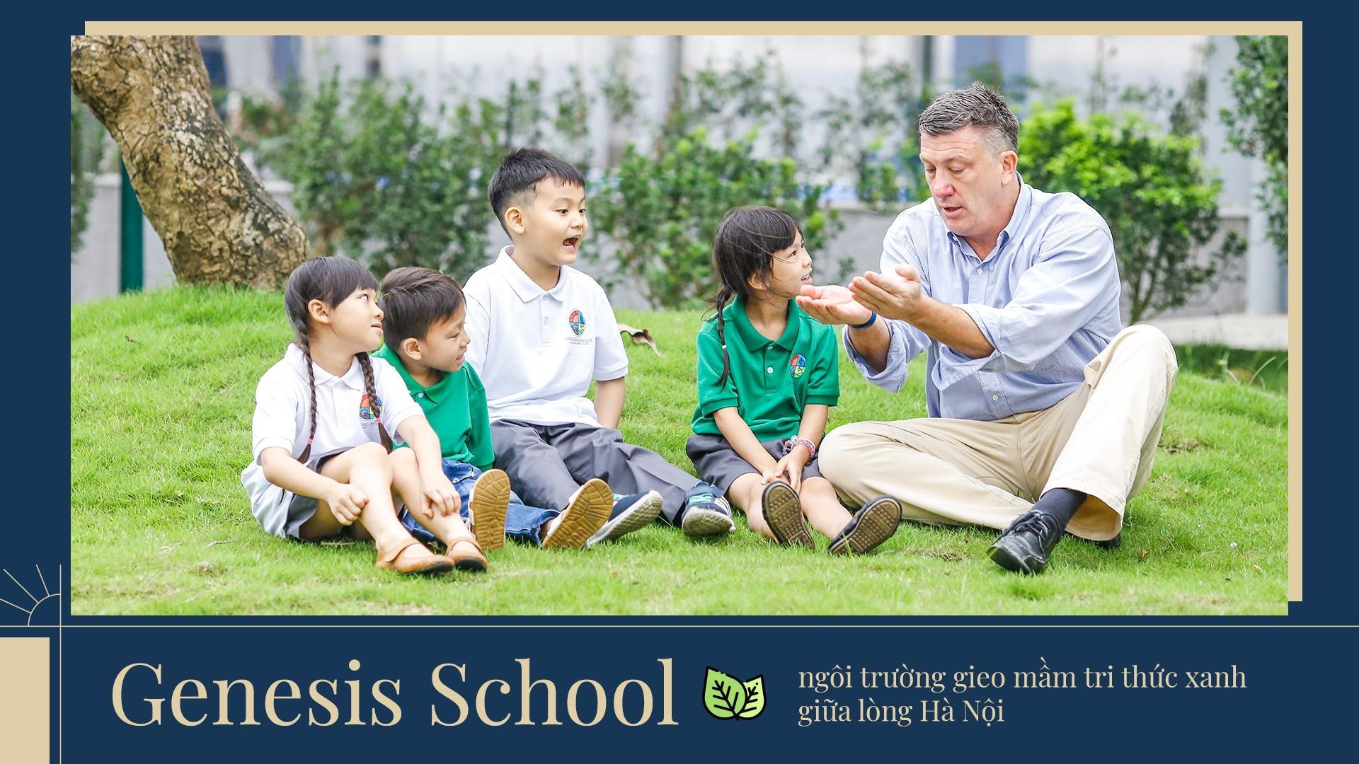 Genesis School - ngoi truong gieo mam tri thuc xanh giua long Ha Noi hinh anh 2