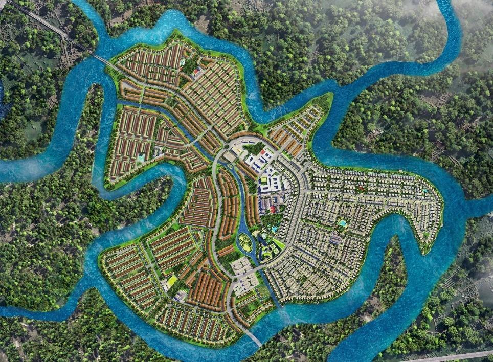 Aqua City,  do thi dao Phuong Hoang anh 3