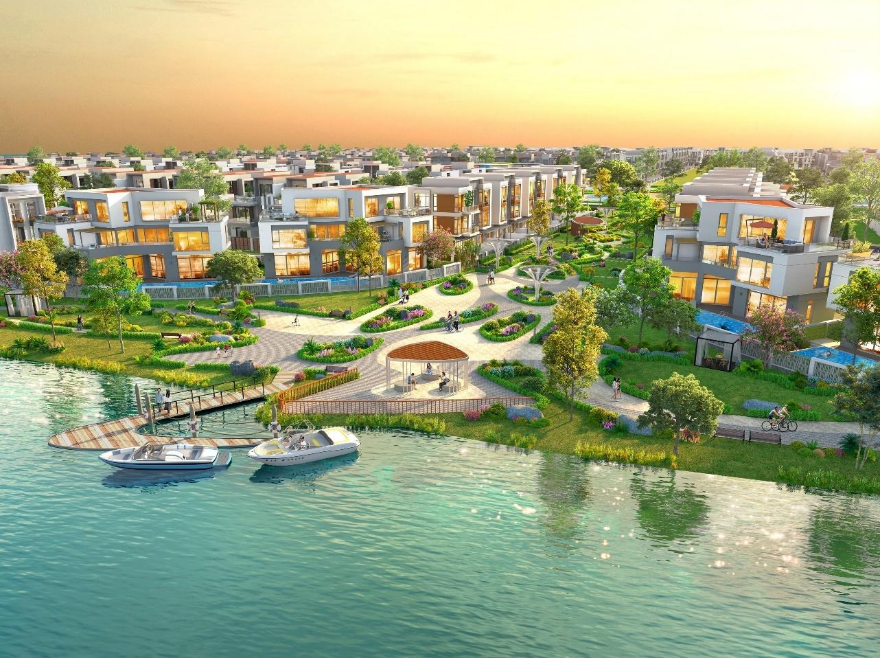Aqua City,  do thi dao Phuong Hoang anh 4