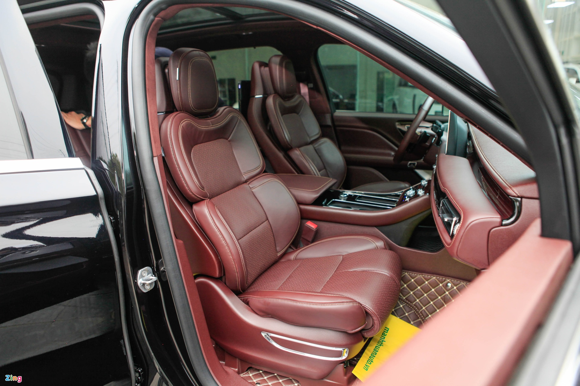 Chi tiet Lincoln Aviator Black Label - SUV 7 cho gia hon 6 ty dong anh 19