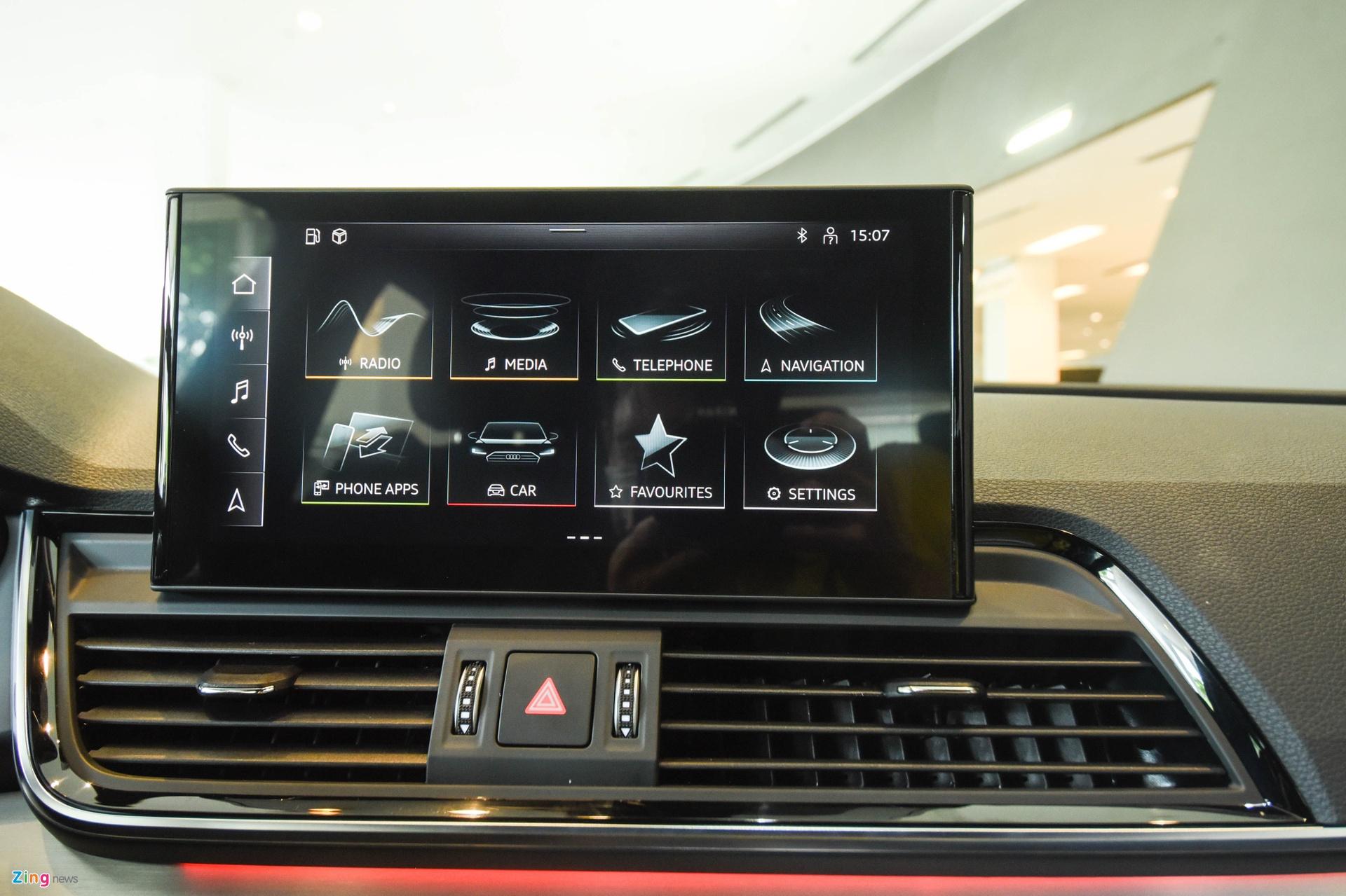 Audi Q5 2021 canh tranh Mercedes GLC anh 9