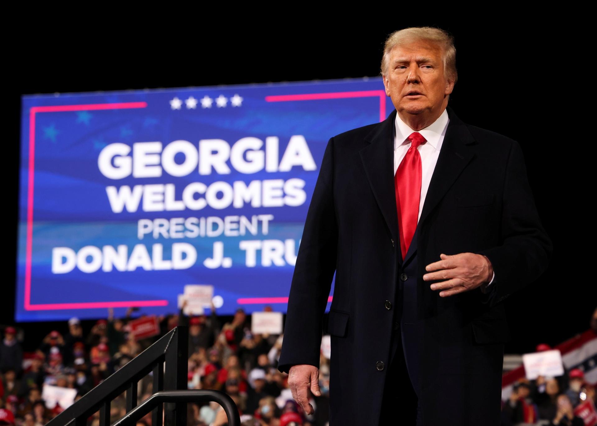 ong Trump mit tinh o Georgia anh 1
