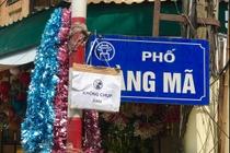 Pho den long Hang Ma xuat hien bien cam chup hinh hinh anh