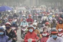 TP.HCM mưa trái mùa, chất lượng không khí cải thiện