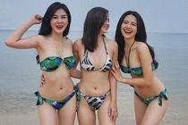 Bo ba sinh nam 1990 than thiet va noi tieng cua lang hot girl Ha Thanh hinh anh