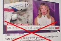 Tin don MH370 tro ve lan truyen tren mang xa hoi la gia mao hinh anh