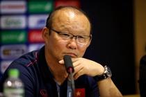 HLV Park: 'U23 Viet Nam thang may man, toi khong hai long voi doi' hinh anh