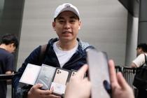 iPhone 11 het hot o chau A, thuong gia Viet van gom nhieu may cho den hinh anh