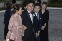 Cong chua Thai Lan xuat hien tai dam cuoi con gai Thaksin o Hong Kong hinh anh