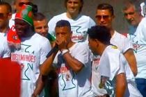 Nani va Renato tro tai beatbox, Ronaldo nhay mua phu hoa hinh anh