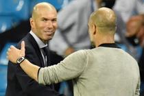 Noi dung cuoc tro chuyen giua Pep va Zidane duoc tiet lo hinh anh
