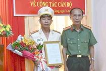 Bo Cong an dieu dong hang loat chi huy thuoc Cong an Tien Giang hinh anh