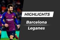 Highlights Barcelona 3-1 Leganes hinh anh