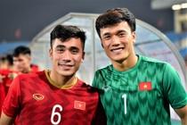 U22 Viet Nam cung bang Thai Lan o SEA Games 30 hinh anh