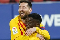 Messi co 2 pha kien tao dua Barca ap sat ngoi dau cua Atletico hinh anh