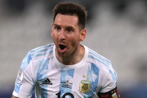 Messi giup Argentina thang tran dau tai Copa America 2021 hinh anh