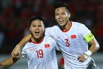 Ha Indonesia, tuyen Viet Nam thang tien tren bang xep hang FIFA hinh anh