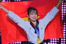 SEA Games: Taekwondo gianh tam HCV dau tien hinh anh