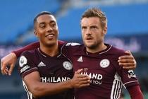Man City 1-1 Leicester: Vardy go hoa tren cham 11 m hinh anh