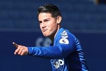 James Rodriguez toa sang giup Everton len ngoi dau Premier League hinh anh
