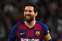 Messi toa sang trong tran ra quan cua Barca hinh anh