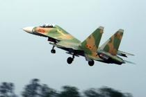 Tieng no tren bau troi Binh Phuoc la cua Su-30 dang tap luyen hinh anh