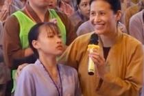 Co gai co giat trong cac clip 'vong nhap' o chua Ba Vang noi gi? hinh anh