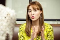 Lan Ngoc: 'Khong co phim dong, toi phai di quay game show kiem tien' hinh anh