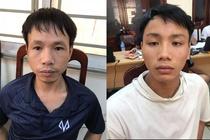 Bat 2 CDV Nam Dinh ban phao sang, danh canh sat tren san Hang Day hinh anh