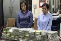 Hang chuc canh sat vay bat 3 phu nu giao dich 80 banh heroin hinh anh