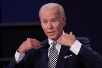 Dieu gi khien ong Biden noi gian trong cuoc tranh luan voi TT Trump? hinh anh