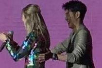 MC Trung Quoc bi doa giet vi dung cham Taylor Swift hinh anh