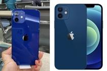 Dan mang tranh cai vi mau xanh duong cua iPhone 12 hinh anh