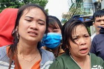 Thai phu va 2 cha con chet trong nha tro o Binh Duong hinh anh
