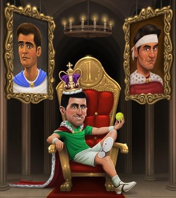 Djokovic vuot Federer anh 1