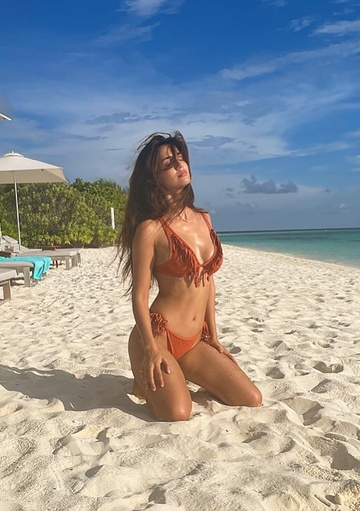 Ngoi sao Bollywood du lich Maldives anh 2