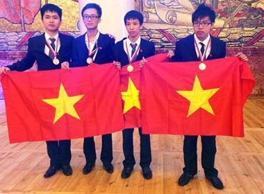 Viet Nam gianh huy chuong Vang Olympic Hoa hoc hinh anh