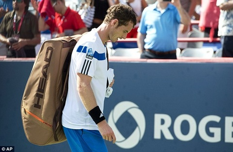 Andy Murray chia tay soc o Rogers Cup hinh anh