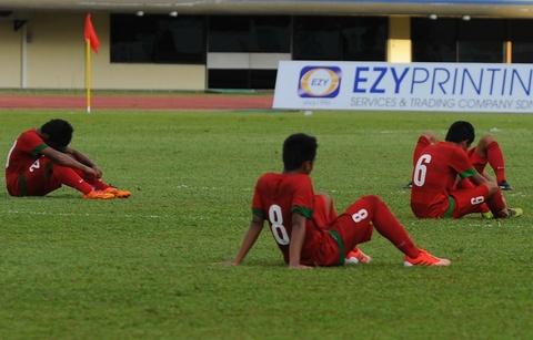 U19 Indonesia 'roi tung' sau tran thua U19 Viet Nam hinh anh